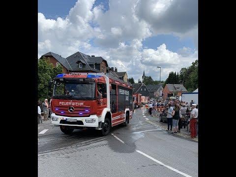 150 Jahre Feuerwehr Hartenstein Festumzug