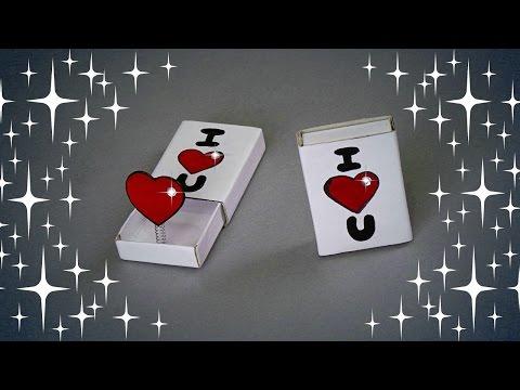 DIY - VALENTINE'S DAY POP UP CARD - TUTORIAL / GIFT IDEAS