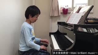 春風  Aくん(小2)作曲   まき音楽教室〜Maki brilliant music〜 thumbnail