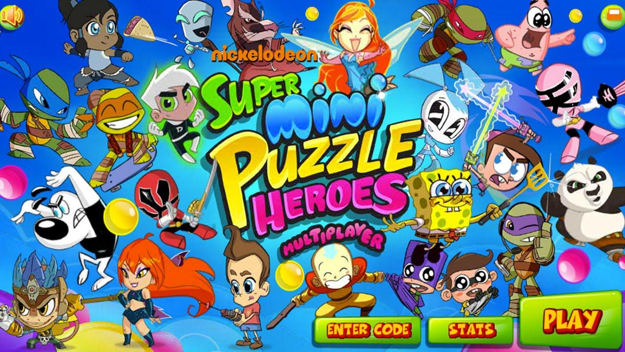 Afbeeldingen van Super Mini Puzzle Heroes Multiplaye…