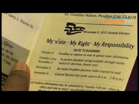 Voting challenges in Ohio seen as attack on civil rights