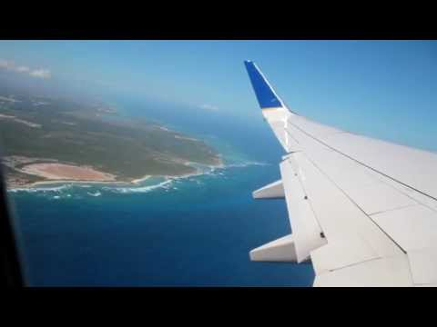 Taking off from Punta Cana, Dominican Republic - HD