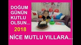 Ahsen'in Doğum Gününü Kutluyoruz...Eğlenceli Çocuk Videosu