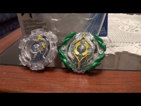 Trottole insolite Beyblade Burst Dual Pack Top KERBEUS K2 & YEGDRION Y2