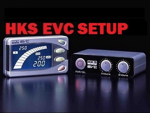 HKS EVC Boost Controller Setup - YouTube