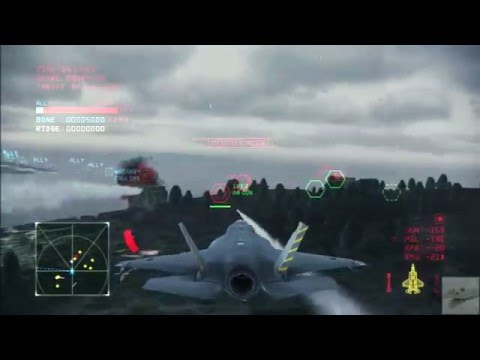 Ace Combat Infinity - Final Mission - Operation Bunker Shot