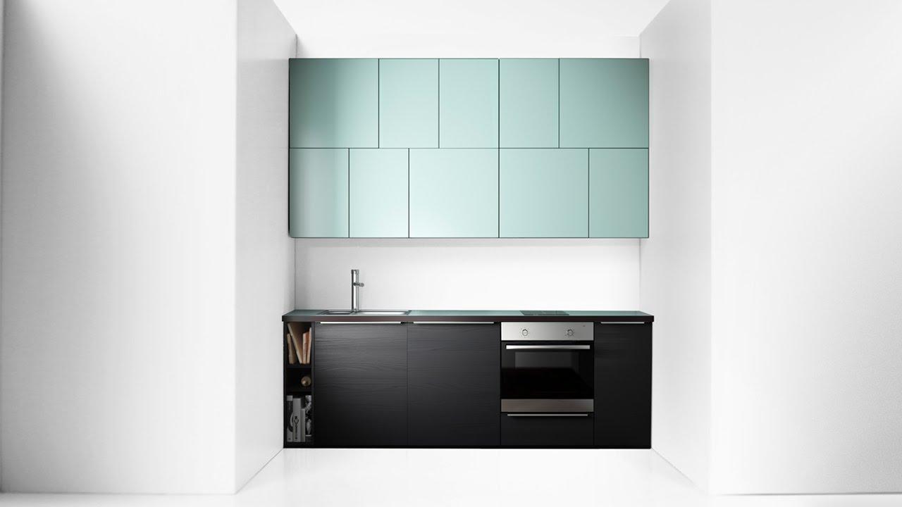 IKEA METOD konyhák: Szűk konyha - YouTube