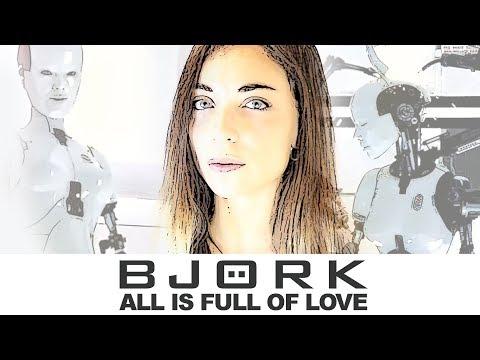 Björk  All is full of Love Cartoon Style Cinematic   Lies of Love