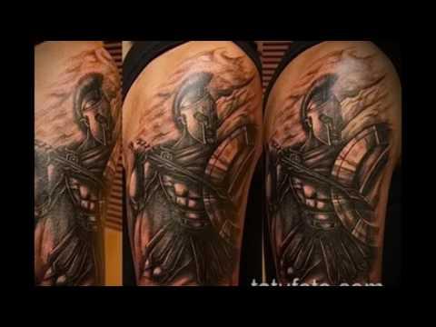 Значение тату Спартанец - оригинальные варианты готовых татуировок на фото (tattoo Spartan) (видео)