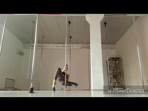 Exotic pole dance. Svetlana Yurchak
