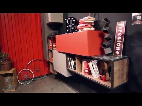 ... soggiorni moderni dal design vintage, letti e cabine armadio - YouTube