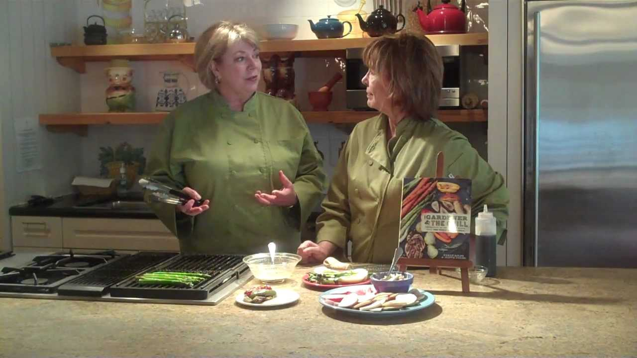 How to take Garden to Grill with the BBQ Queens - YouTube