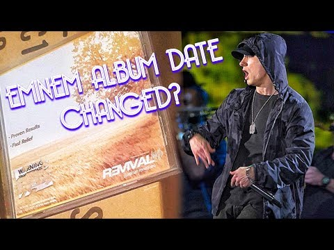 EMINEM ALBUM RELEASE DATE CHANGED? NOW NOVEMBER 12!