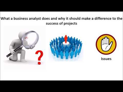 The value of business analysts