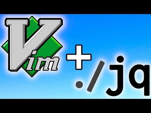 Format JSON In VIM - Using Jq