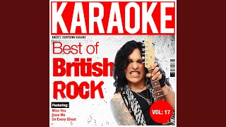 Miss You (In the Style of the Rolling Stones) (Karaoke Version)