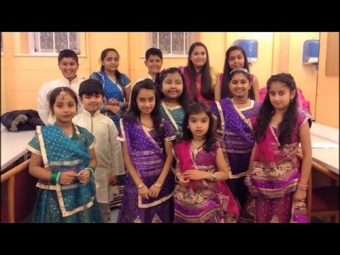 Loughborough Diwali Show 2015 - Diva dance and Diwali Story