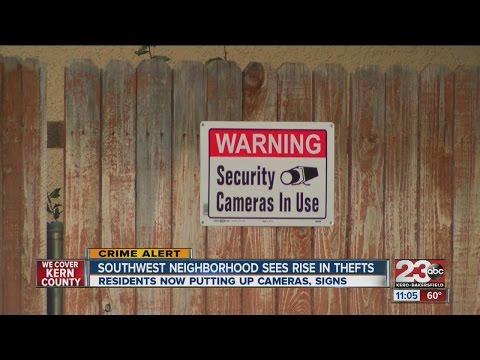 Southwest neighborhood fed up with thefts