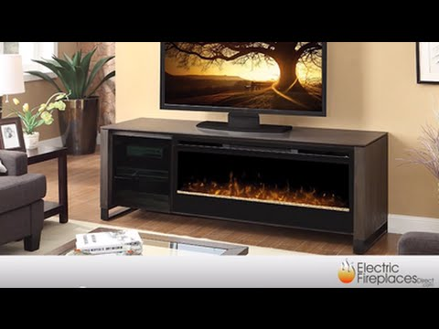 Electric Fireplace Media Center | Fireplace TV Stand - Electric Fireplace Media Center Fireplace TV Stand - YouTube