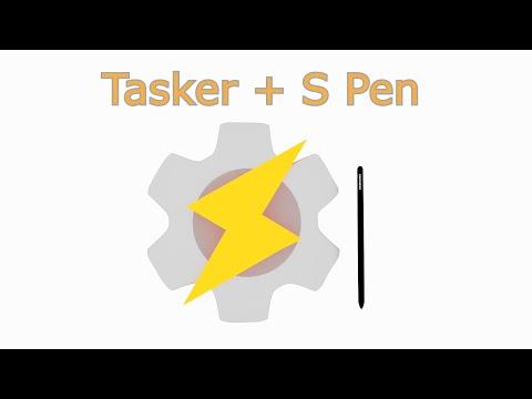 Tasker + S Pen