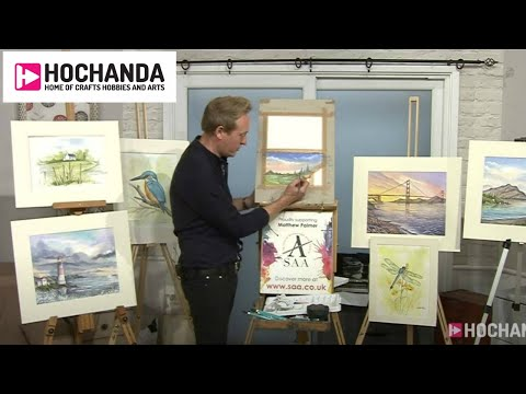 Learn How To Watercolour With Matthew Palmer And Hochanda!