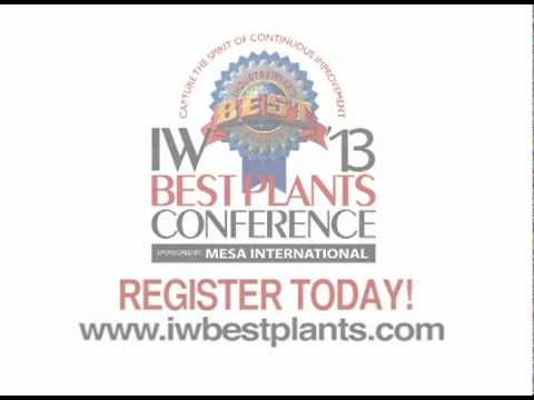 IW Best Plants Conference