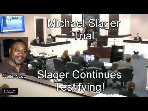 Michael Slager Trial Day 15 Part 2 (Slager Testifies) 11/29/16