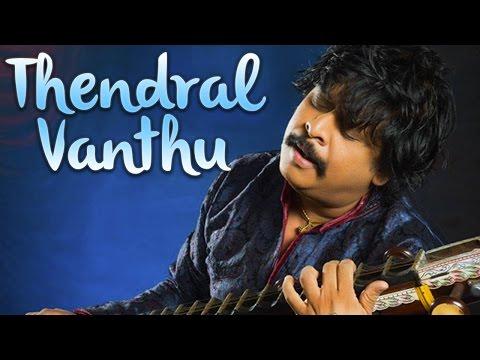 Thendral Vanthu Theendumbothu (Veena Cover) - Rajhesh Vaidhya Ft. Mani & Band