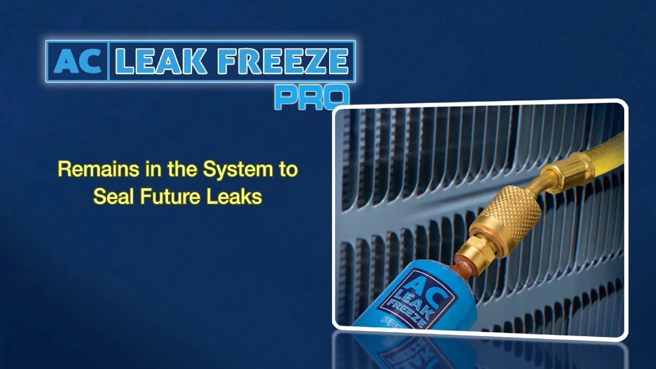 Ac Leak Sealer Ac Leak Freeze Pro Youtube