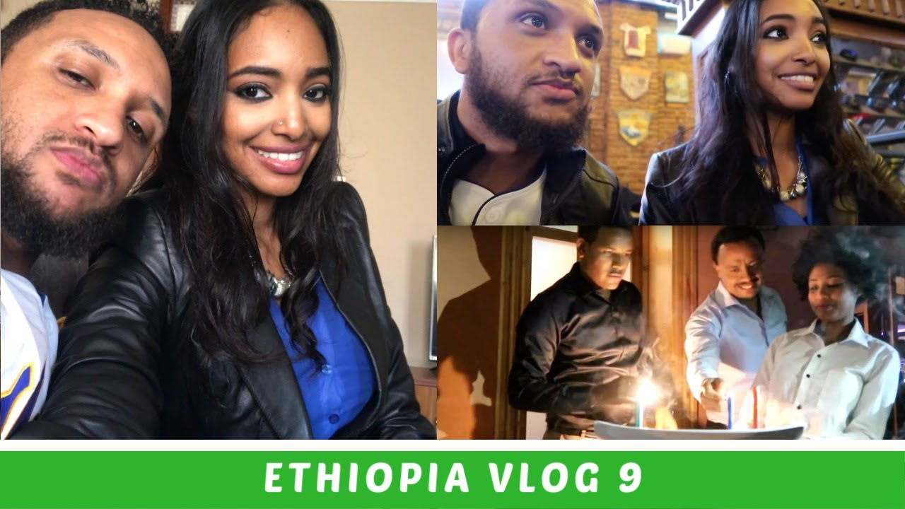Ethiopia Travel Vlog 9 Surprise Birthday Party !!! | Amena and Elias