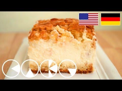 BIENENSTICH Rezept --- BEE STING CAKE Recipe