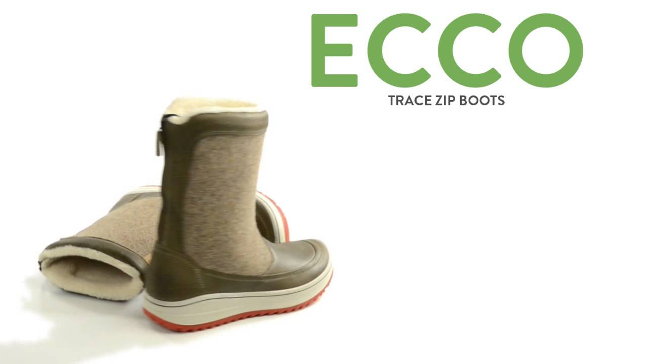 5c00095d9 ECCO Trace Zip Boots (For Women) - YouTube