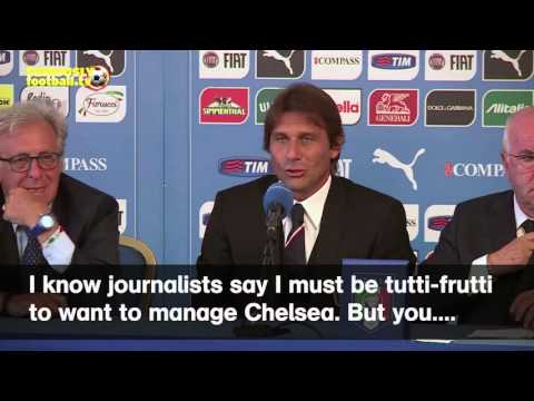 HILARIOUS SPOOF VIDEO: Antonio Conte talks about Chelsea job