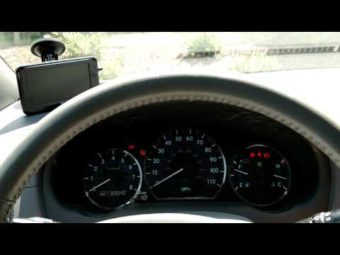 How to reset a maintenance light on a 2004 Toyota sienna  YouTube