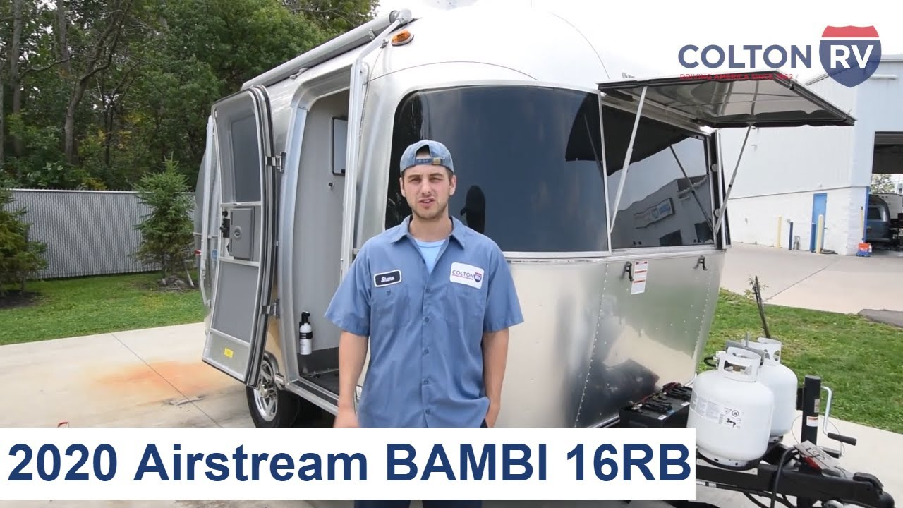 2020 Airstream BAMBI 16RB Full Demonstration/New Owner Orientation