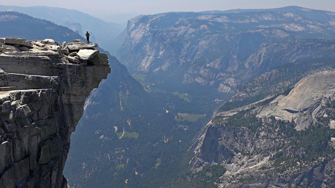Yosemite Falls Wallpaper Hiking Half Dome Yosemite National Park Usa In 4k Ultra