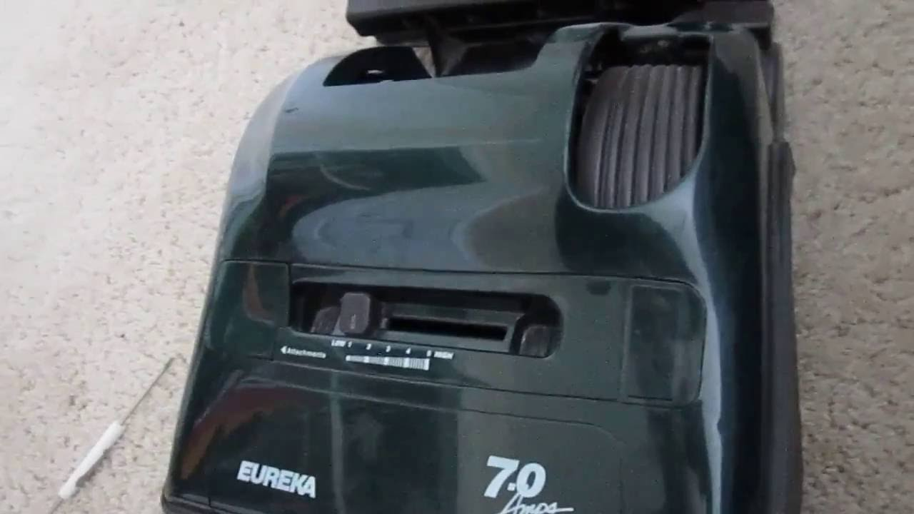 How To Replace Or Change The Belt On A Eureka Bravo Vacuum