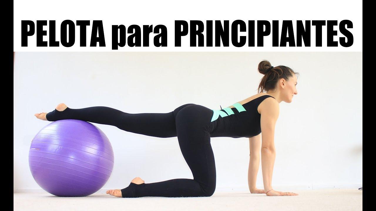 PELOTA para PRINCIPIANTES - ejercicios básicos todo cuerpo  ed4b3c7d7a10