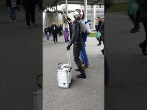 Enter to Mondocon as Daft Punk - Thomas Bangalter