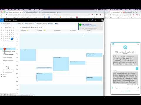 Interview Scheduling with Office 365 and Microsoft Exchange | AllyO