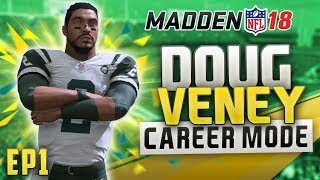 MADDEN 18 CAREER MODE GAMEPLAY - CREATION OF THE FASTEST QB EVER! | EP1
