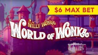 World of Wonka Slot - $6.00 Max Bet - OOMPA LOOMPA Saves The Day!