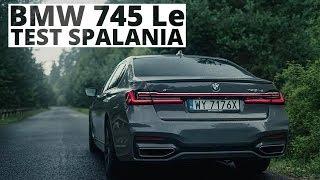 BMW 745Le 3.0 Hybrid 394 KM (AT) - pomiar zużycia paliwa