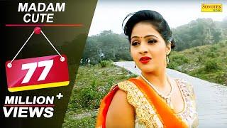 Madam Cute | Uttar Kumar Dhakad Chhora, Kavita Joshi | Tarun, Ruchika Jangid | Haryanvi Video Songs thumbnail