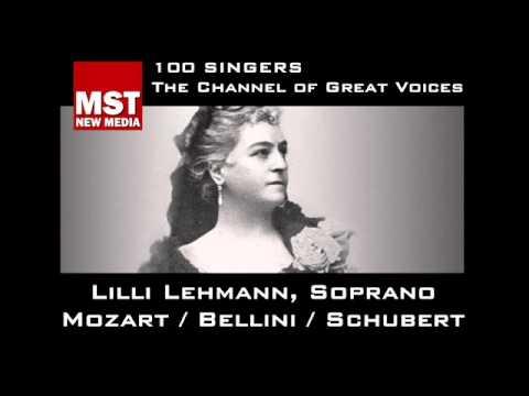 100 Singers - LILLI LEHMANN