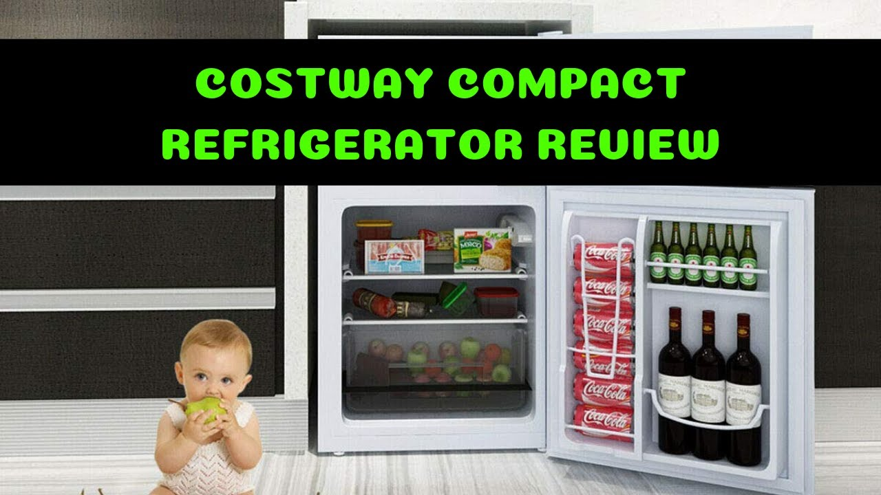 Costway Mini Refrigerator - BEST Compact Fridge If You're In The Market For  One!