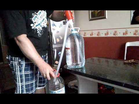 Насос для перекачки топлива 12В 40Л - YouTube