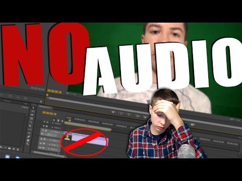 How To Fix No Audio Track With .MTS File in Premiere Pro