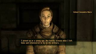 Fallout: New Vegas (PC) - Colonel Moore Talks About Her Past & the NCR