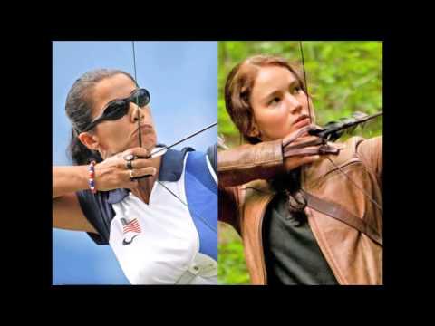 Голодные игры. Стрельба из лука. Обзор. Hunger games archery review
